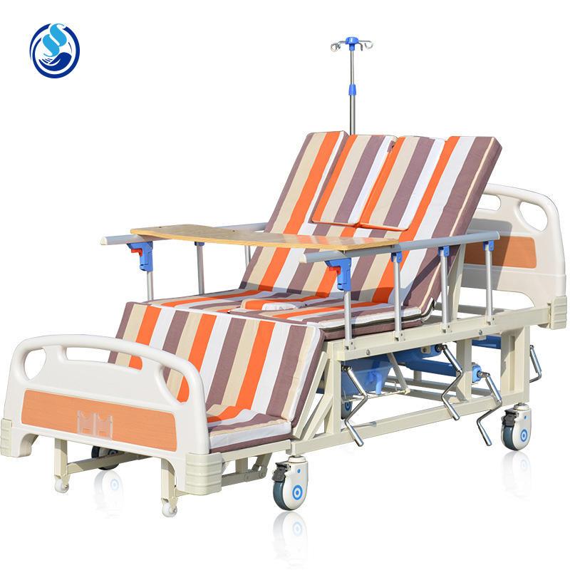 Медицинское оборудование Пять функций Электрические регулируемые больничные койки
