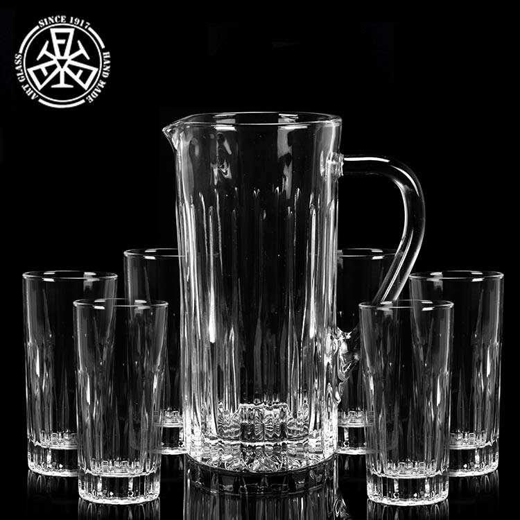 7 шт. Кристалл Ликер кувшин подарочный набор, питьевой сок корпоративный подарочный набор
