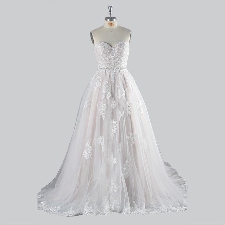Junoesque 2019 Свадебное платье Кружева свадебное платье