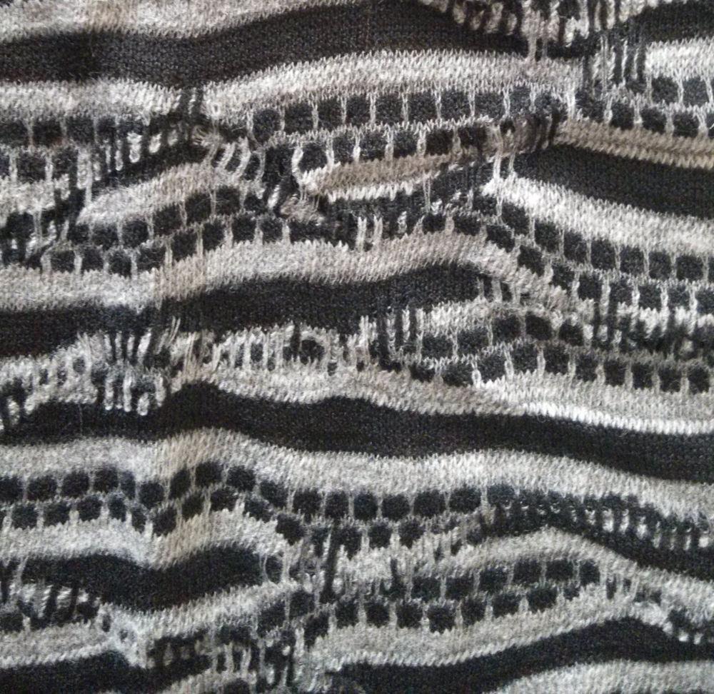 Malha tecido mash, gravado micro velboa tricot urdidura da tela