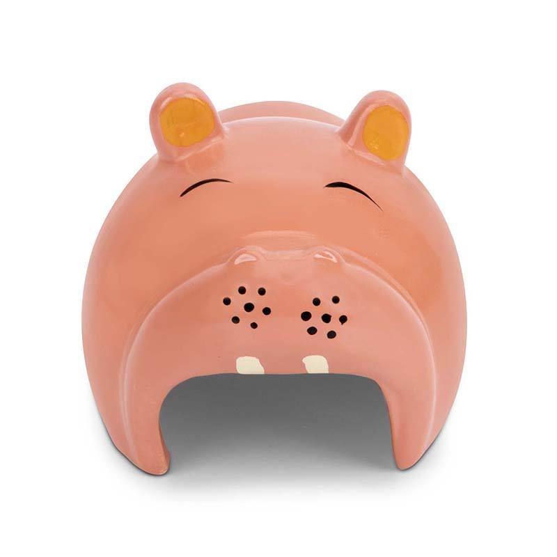 Çin Fabrika Yüksek Kalite Güzel Ve Slylish Seramik Hippo Hamster Satılık Ev