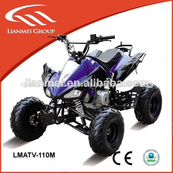 Wheeler 4 110cc/70cc/50cc loncin atv de cuatro ruedas de bicicleta quad con el ce