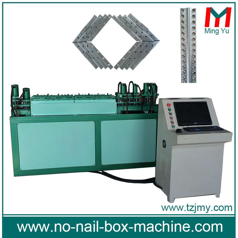 Stahlband folding holzkiste verarbeitung maschinen verpackungsmaschine