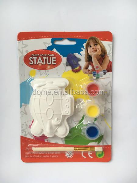 Rocket launcher форма керамические биск неокрашенной статуи для малыша подарок