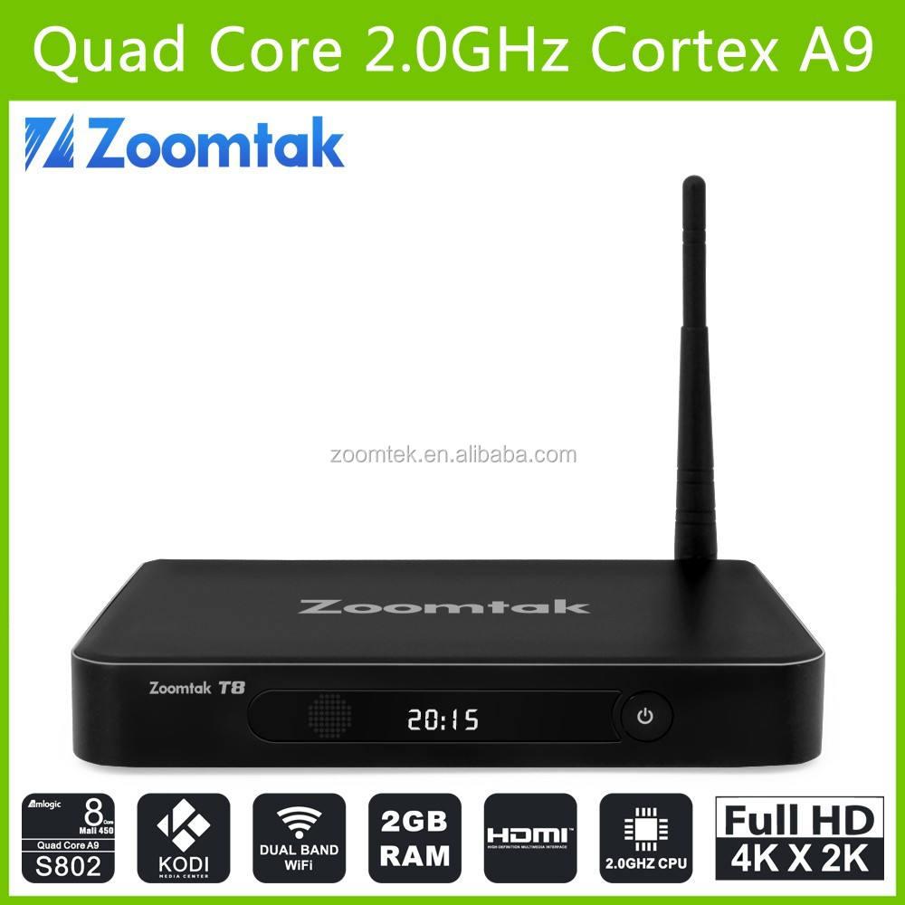 Amlogic s802 quad core caixa de TV kodi frete filme pornô smart TV BOX ANDROID 4.4 WIFI INTERNET TV BOX