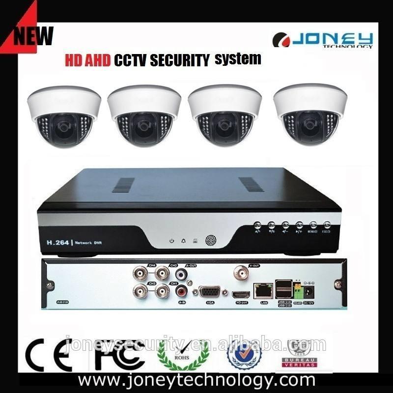 Faible coût la maison 4CH 720 p HD AHD dvr, Ahd <span class=keywords><strong>caméra</strong></span>, Système de sécurité