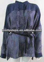 caliente sol del verano de protección ropa de diseño de moda para mujer de la blusa para mujer de moda superior de la blusa