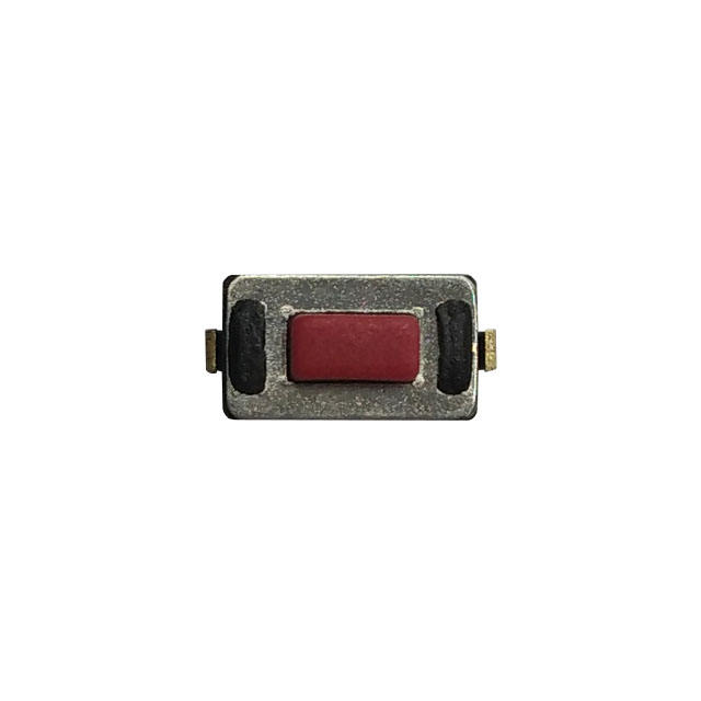3.8x6.0 4,3mm Yükseklik Siyah Düğmesi anahtarı