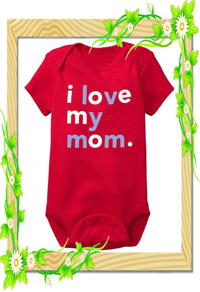 Atacado 100% algodão moda bebê recém-nascido para roupas infantis, infantil e toddle's presente no 2014