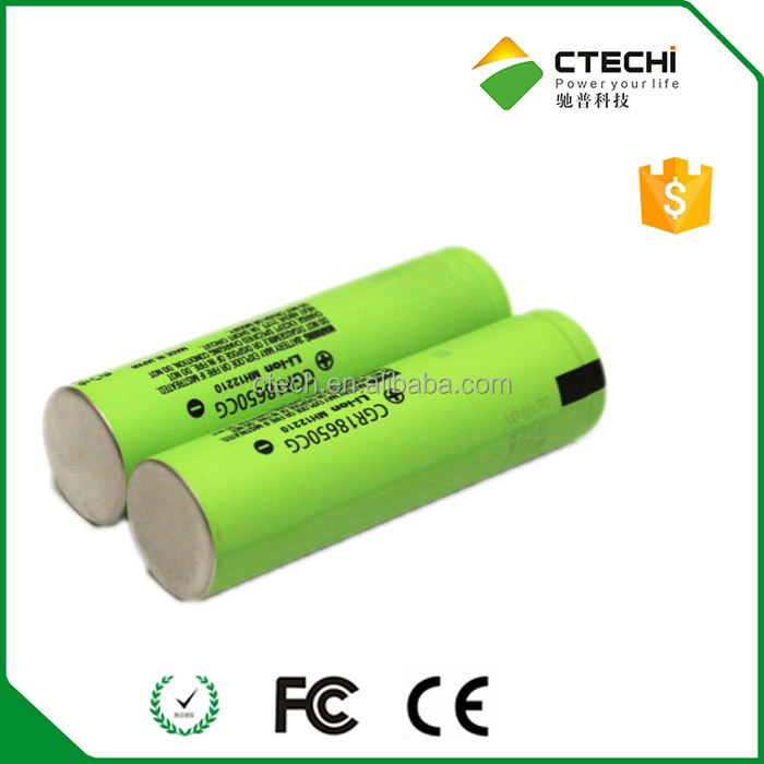 Original 18650 li ion 3.6 v Batería 2250 mah CGR18650CG