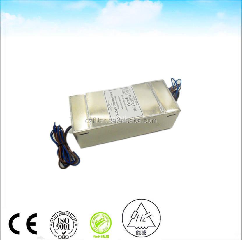 производство, 4 линейный emi фильтр со светодиодным источником электропитания, для клетки Фарадея для МРТ, высокое качество