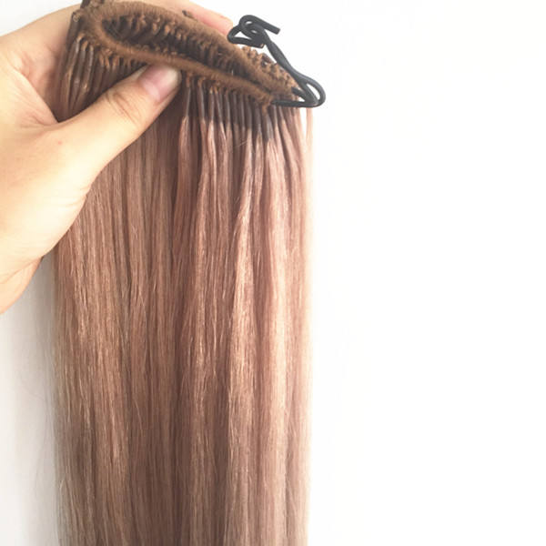 YL Wholesale Korea Knotted cotton Thread Hair Weaving hair extensions