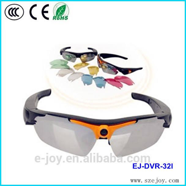 Usine de haute qualité prix inférieur télécommande numérique de lunettes de soleil <span class=keywords><strong>caméra</strong></span> réseau