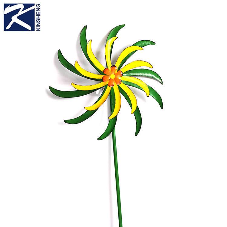 Kinsheng Новое поступление Модные металлические ремесло цветы
