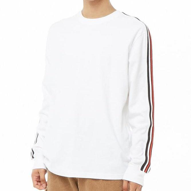 Оптовая продажа Высокое качество для мужчин; футболка с длинными рукавами Повседневное полосатая для