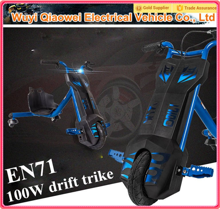 2015 populares <span class=keywords><strong>QWMOTO</strong></span> certificación CE eléctrica a la deriva 3 de la rueda pequeña bicicleta eléctrica para los niños