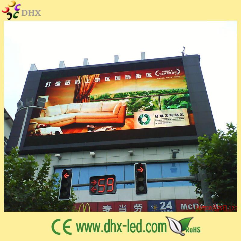 открытый полноцветный рекламный ролик светодиодный дисплей