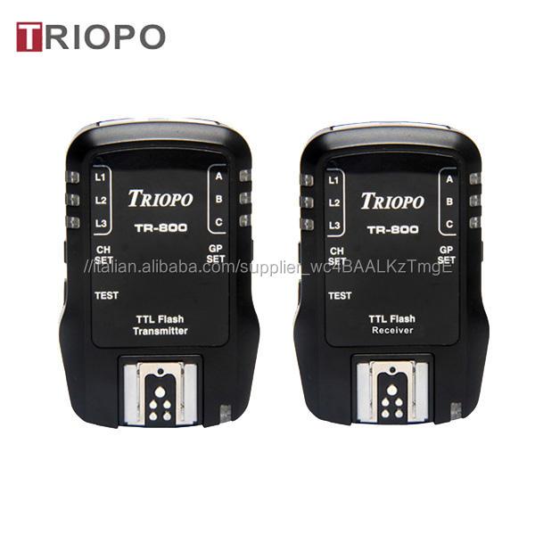 TRIOPO TR-accessori <span class=keywords><strong>Della</strong></span> Fotocamera/remote wireless TTL HSS 1/8000 S Flash Trigger Per <span class=keywords><strong>Canon</strong></span> o NIkon