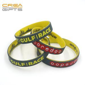 10 stücke Leere Armband Silikonkautschuk Armbänder Erwachsene Kinder