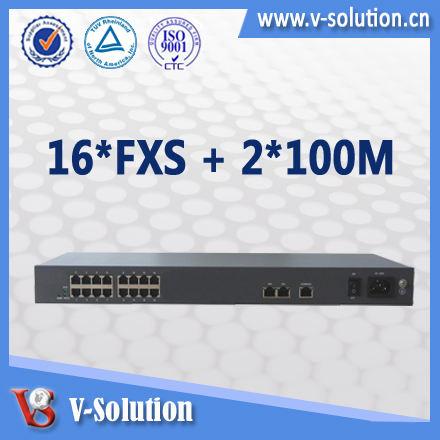 高品質iad301616fxsvoipゲートウェイアダプタのサージprotecttionvoipのsipゲートウェイ