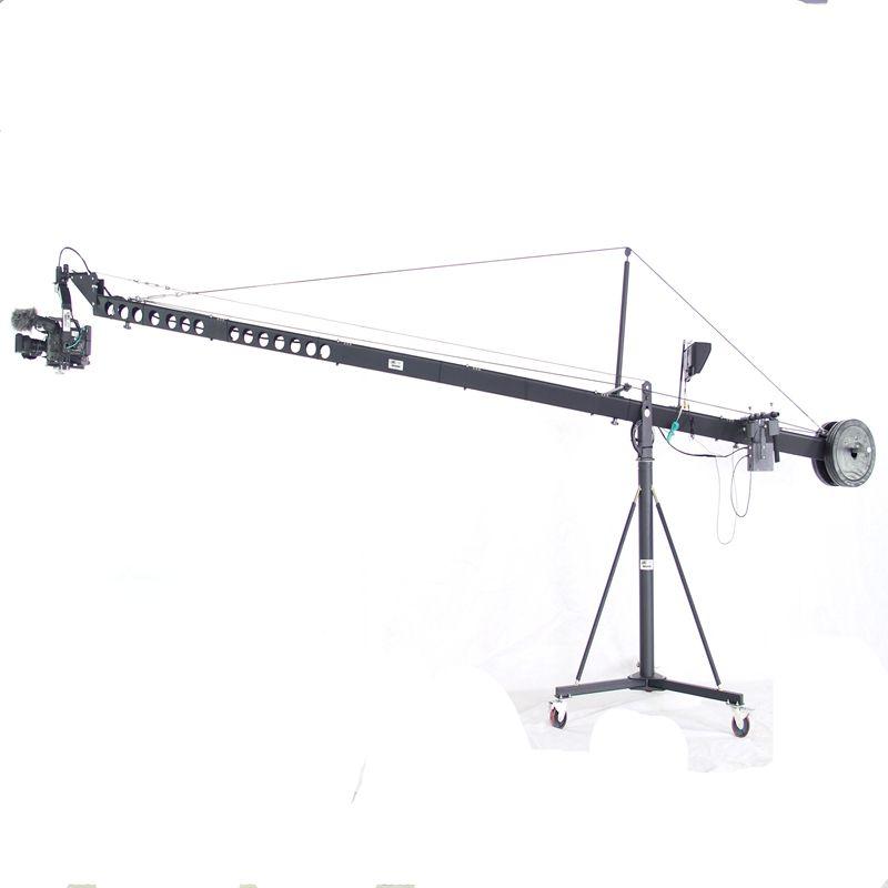 Fuente de la fábrica profesional LMS 12 <span class=keywords><strong>m</strong></span> triángulo jimmy <span class=keywords><strong>jib</strong></span> grúa para 15 kg filmación cámara de vídeo