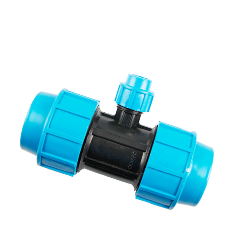 63*25 PE Riducendo Tees Kit di Irrigazione a goccia <span class=keywords><strong>Raccordi</strong></span> A Compressione in PP