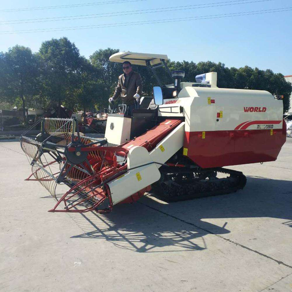 farm machinery of kubota paddy small rice wheat combine harvester for sale