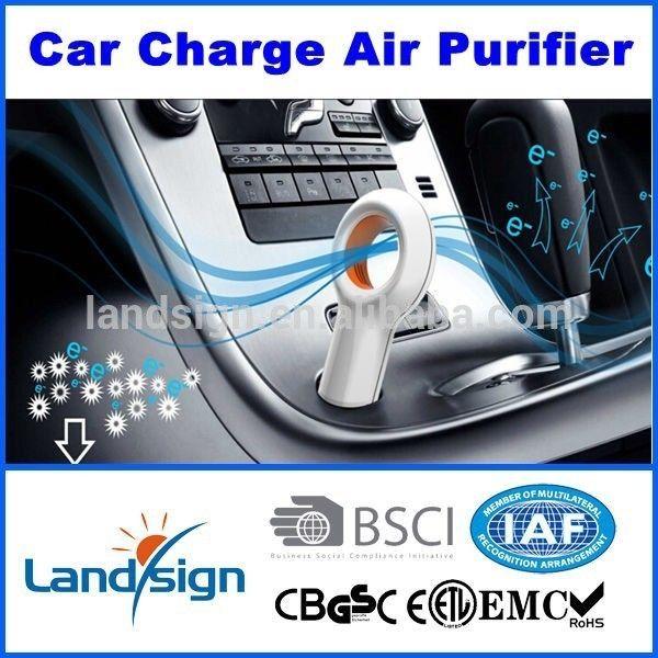 سيارة لتنقية الهواء مع الأيونات السالبة و الأوزون EP501 سيارة معطرات الهواء بالجملة