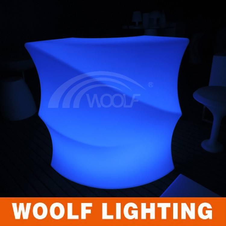 Горячая распродажа популярные из светодиодов свет угол бар мебель