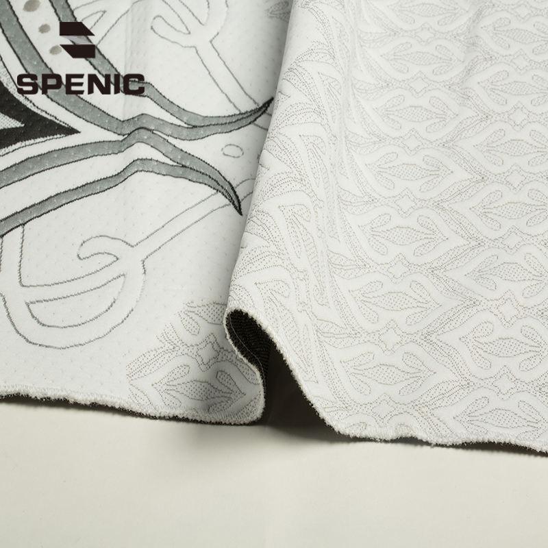 Barato Knitting tela de algodón jacquard <span class=keywords><strong>brocado</strong></span> de raso