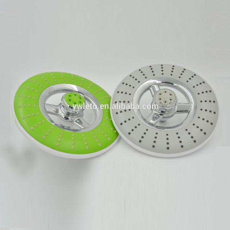 Хорошее качество хром отделки поверхности дешевые пластиковые ванная комната Топ вращающихся душем