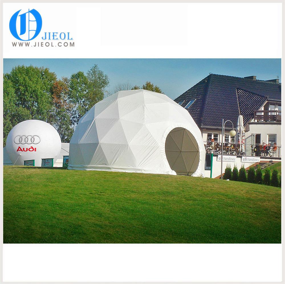 지리적 돔 직경 20 메터 지오 데식 대형 돔 텐트 회의