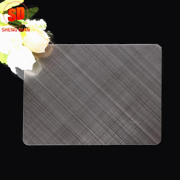 공장 공급 양방향 201 블랙 브러쉬 헤어 라인 완성 장식 스테인레스 스틸 시트