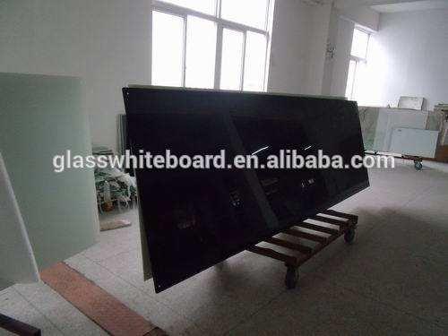 Mágnetico vidrio templado secado borrado pizarra