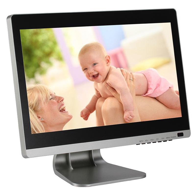15.6 polegada monitor de tela de toque capacitivo 1920*1080 P Com VGA Entradas HD