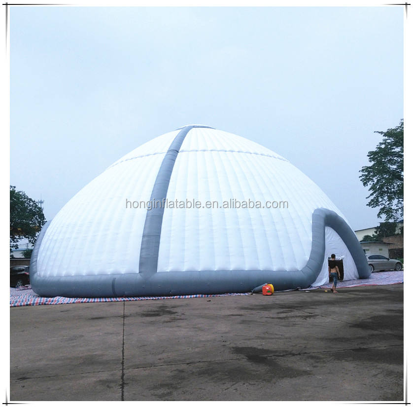 Gigante Al Aire Libre Inflable Tienda de la Bóveda, Construcción de La Estructura inflable Para Eventos