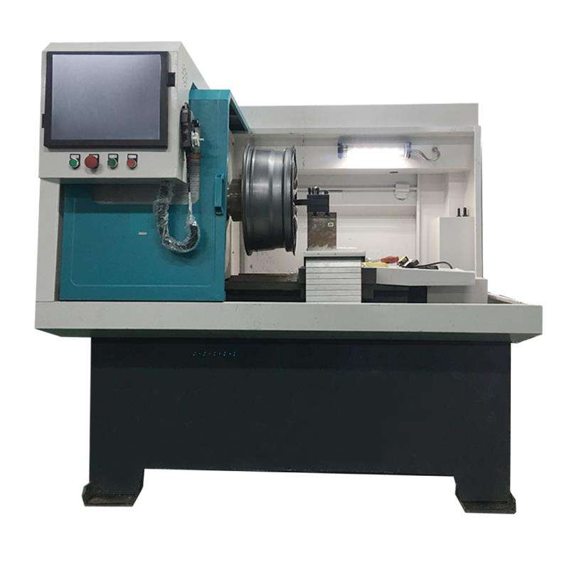 (GBT-L057) Alaşım Tekerlek Tamir Elmas Kesme CNC Torna Makinesi Için Araba