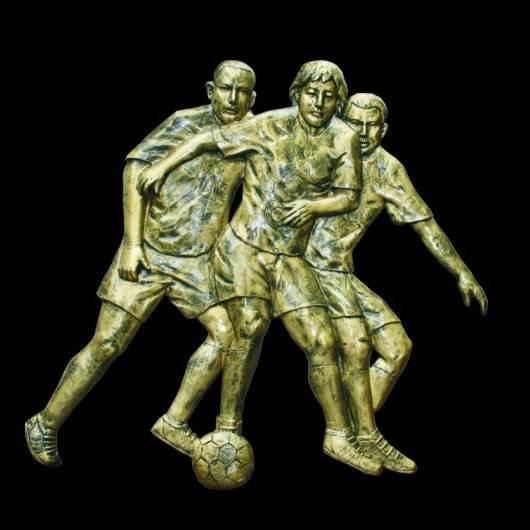 стекловолокна облегчением- спорт футбол стены скульптуры
