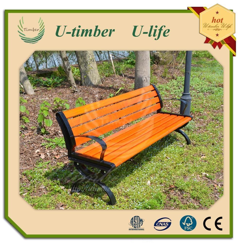 Portatile pieghevole panca di legno plastica composte wpc panchina, impermeabile