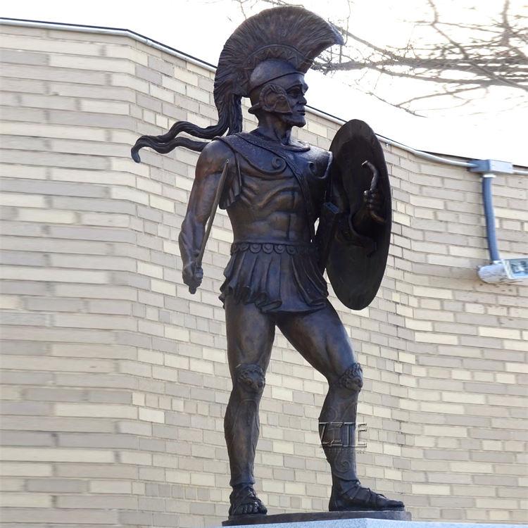 De western garden vida tamaño <span class=keywords><strong>latón</strong></span> escultura de <span class=keywords><strong>bronce</strong></span> soldado estatuas