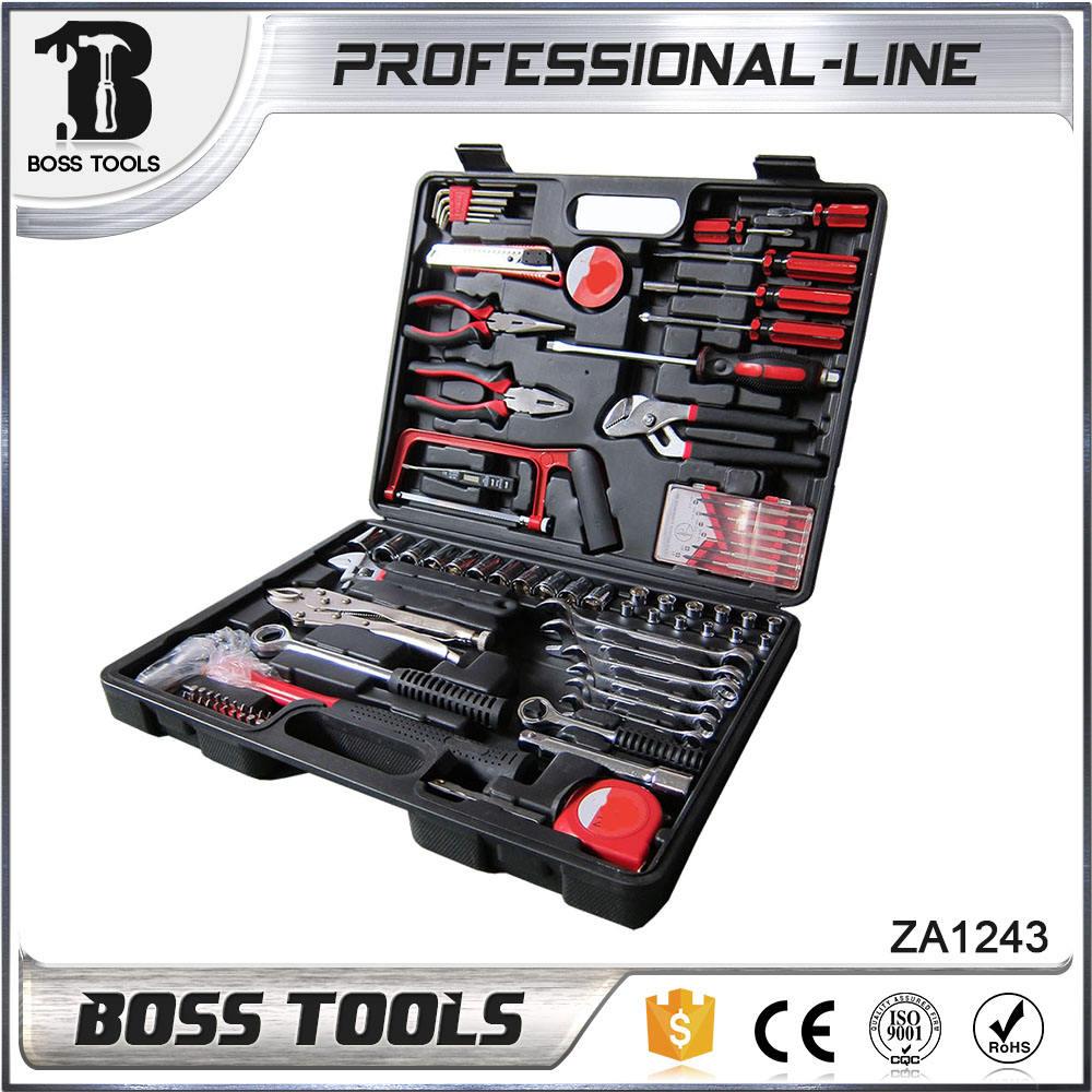 Good quality 81pcs mechanic tool set