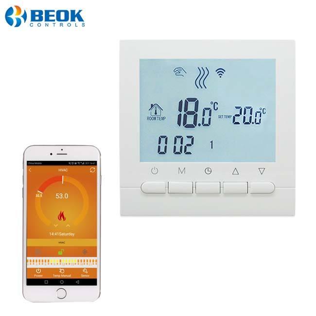 Китай поставщика газовый котел термостаты мобильный телефон приложение применение функции Wi-Fi function