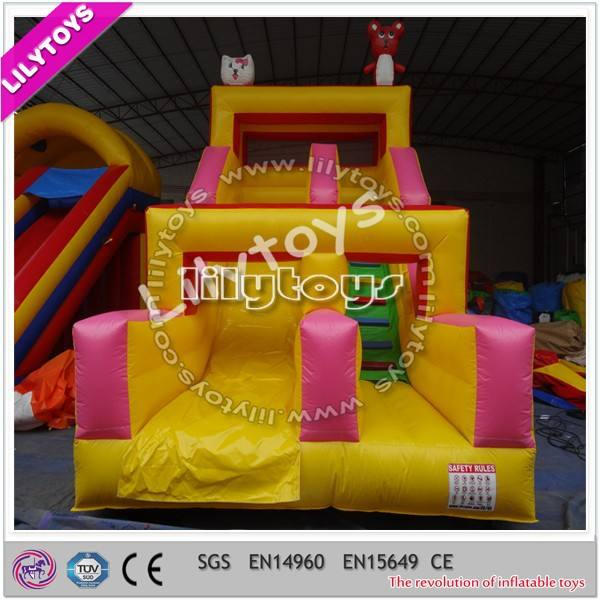 màu sắc hấp dẫn không thấm nước PVC được sử dụng slide để bán với chất lượng đáng tin cậy