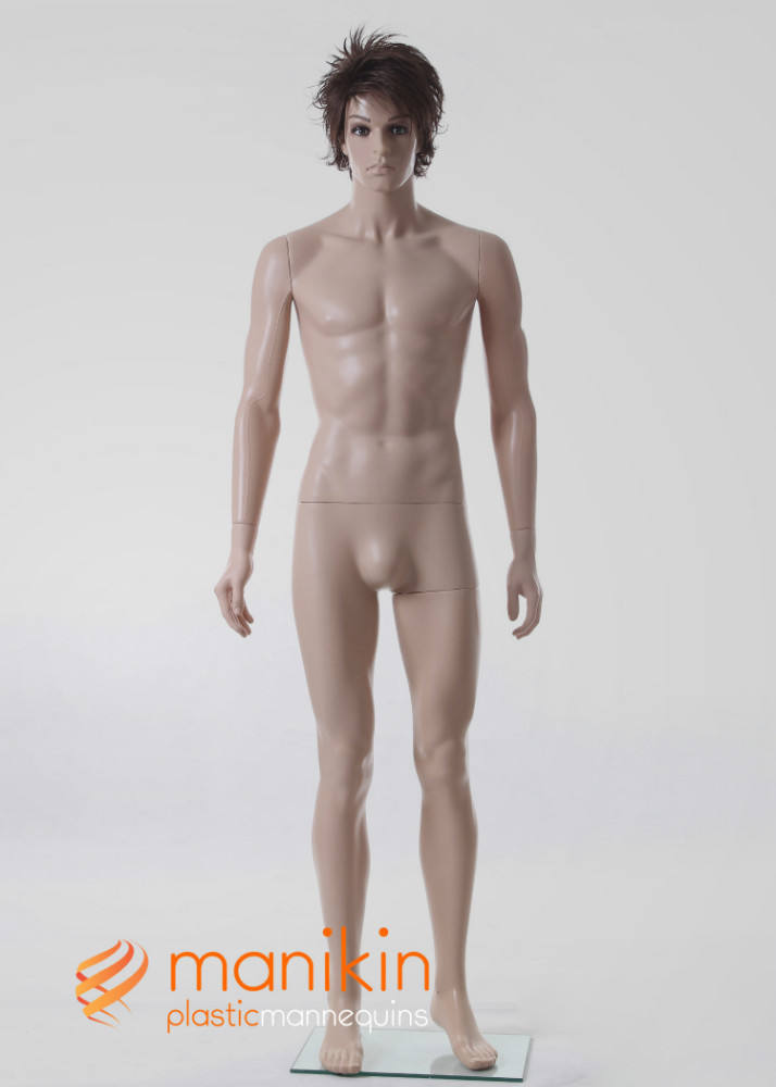 Adjustable military male mannequin