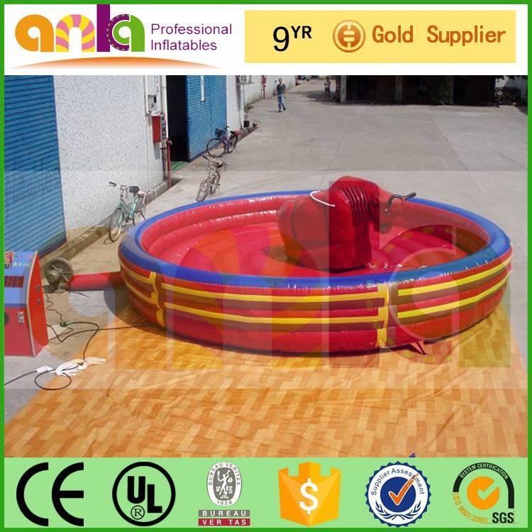 Fábrica OEM inflável bull do rodeio para venda para o comércio exterior