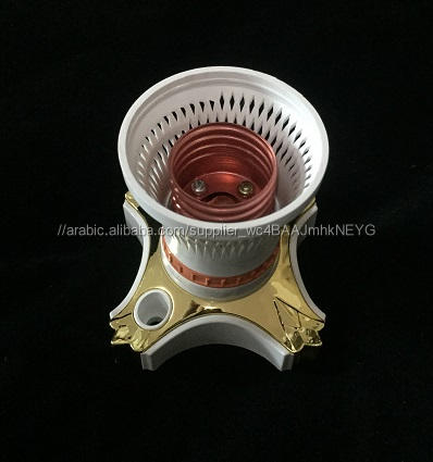 حار بيع yk791 e27 الاساسية البورسلين lampholder الباكليت بالنسبة لروسيا