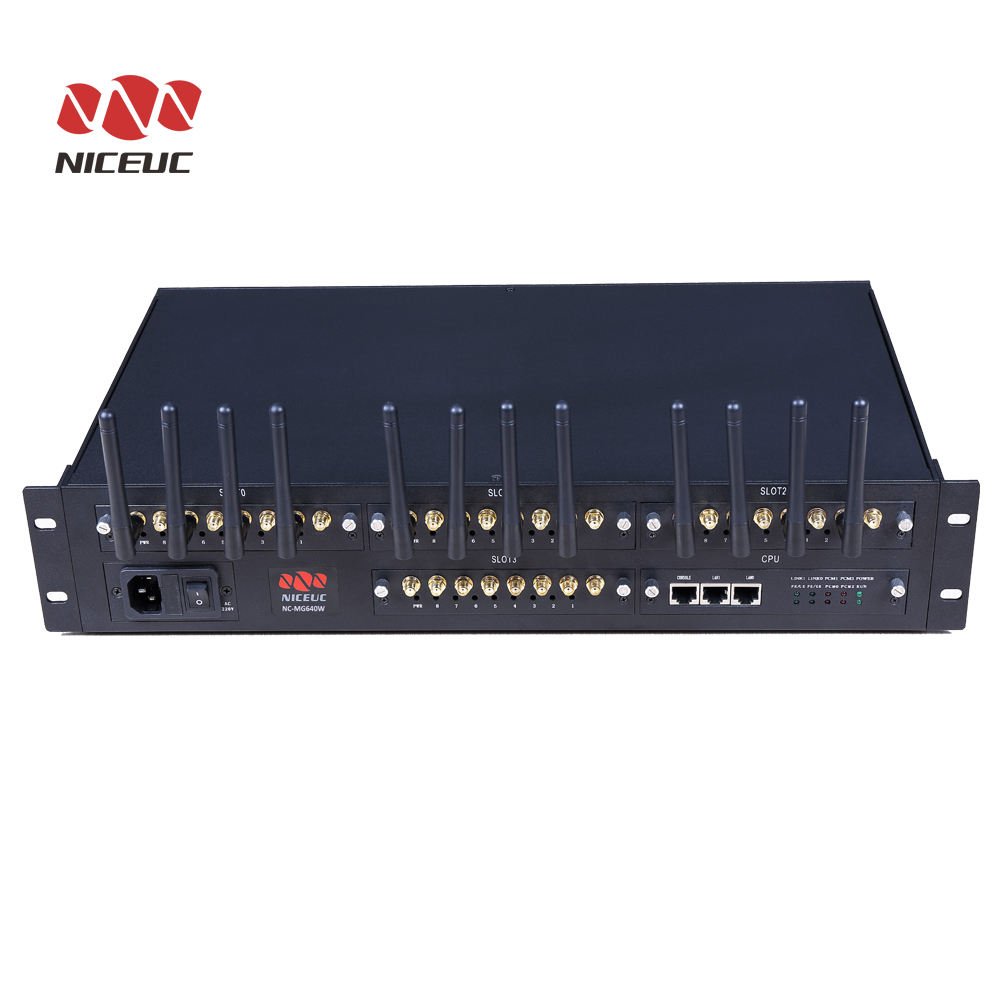 Niceuc <span class=keywords><strong>Voip</strong></span> Gateway 32 Port Sim, Gerbang <span class=keywords><strong>Voip</strong></span> Sms Gsm 32 Port