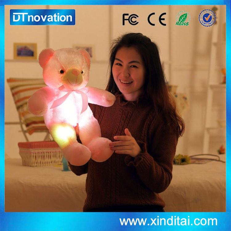 Милый Плюшевый Мишка Со Светодиодной Night Light 50 см