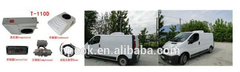 camión refrigerador de <span class=keywords><strong>aire</strong></span> unidades de alimentación de cc
