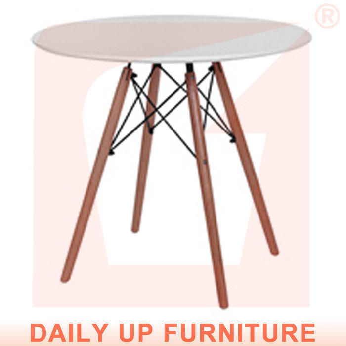 80*80cm eames 테이블 현대적인 스타일로 MDF 데스크탑 나무 다리 둥근 식탁 사용하여 집에 클럽 커피 테이블 사무실 회의